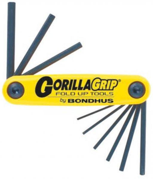 Sechskantschlüsselsatz small  Gorilla Zoll 0.050 - 3/16