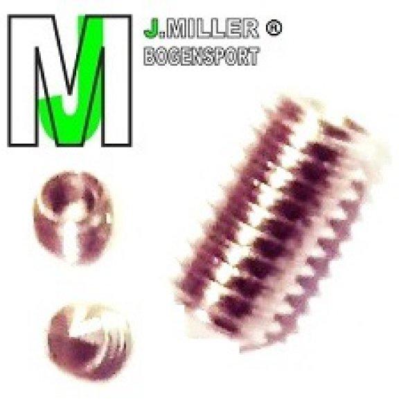 JM/CB - Ersatz-Set Stell- und Feststell- Innensechskantschrauben für Profi JM/CB 42-1.2 Button