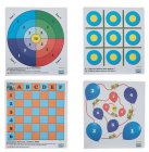 Spiele-Auflagen CCS GAME FACES 3X4 - NAVAL BATTLE 3 IN-A-ROW BAL
