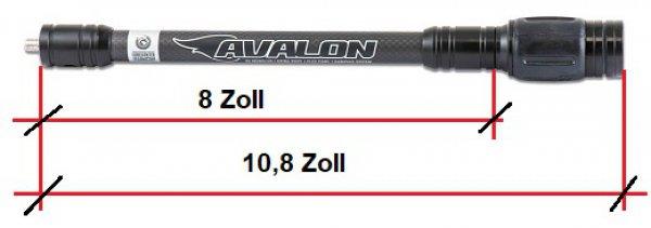 Avalon - TEC X 3D-PRO Black Hunting 8 Zoll