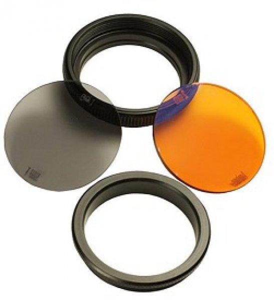 Bowfinger - BOWFINGER FILTER KIT FOR 20/20 SCOPE 30MM INCL. GRAY&AMBER FILTER/LENS BASE/RING