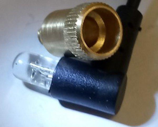 J. Miller Messing-Adapter 8-32 für Visierlicht