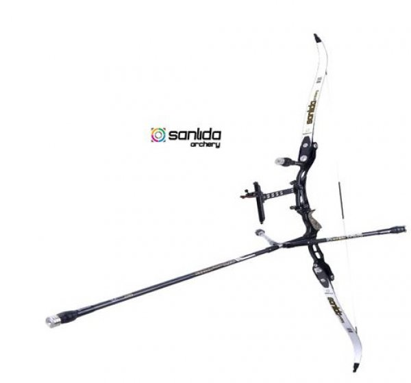 Sanlida - MIRACLE RECURVE SET 68 Zoll Bogenlänge RH BLACK